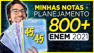 🔥 COMO TIREI 836,7 NO ENEM + Como Estudar para o ENEM 2021
