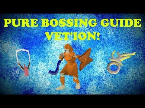 OSRS! Pure Bossing Guide! Vet'ion! Easy Safe Spot?!