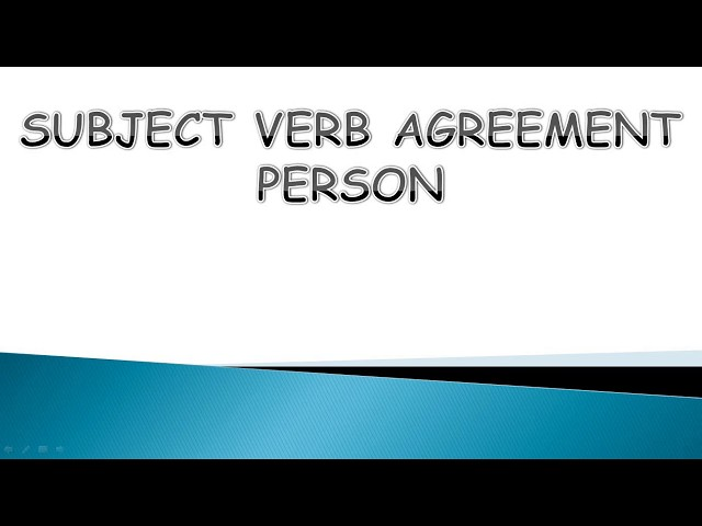 You Are Making This Mistake In Subject Verb Agreement