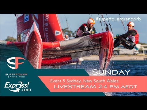 SuperFoiler Live Stream Event 5 - Sydney, NSW Sunday