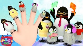 Finger Family (Penguin Version)   CoComelon Nursery Rhymes & Kids Songs