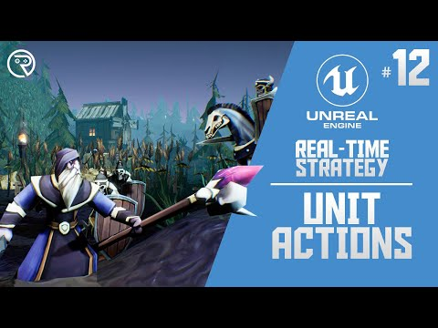 Download Unreal Engine 4 Tutorial - RTS Part 12: Unit Actions
