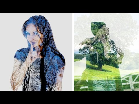 Multiple Exposure Or Double Exposure In Camera DSLR Photography Tutorial