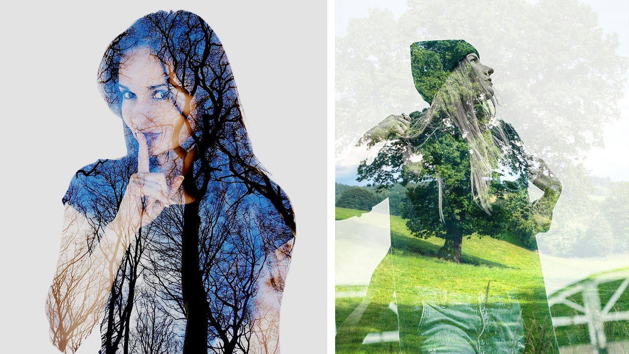 Multiple Exposure Or Double In Camera DSLR Photography Tutorial