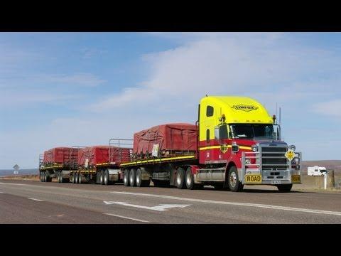 Road Trains around Pt Augusta & Pimba
