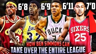 How ben simmons can take over & dominate the nba!