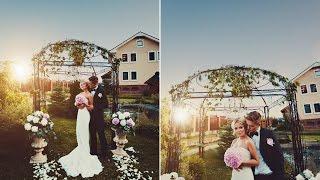 видео Свадьба в европейском стиле