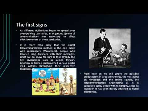 History of electronic and telecommunication engineering