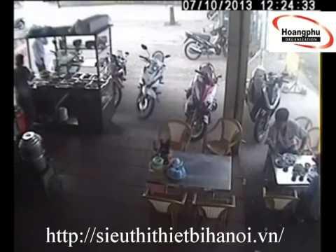 Mất trộm SH ở quán cơm bình dân