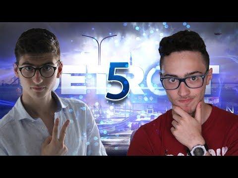 DETROIT: BECOME HUMAN - Si Scappa da Connor! | Walkthrough in Coop Gameplay ITA - Parte 5