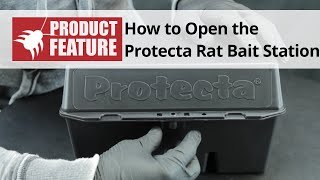 How to Open the Protecta Rat Bait Station