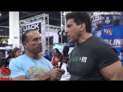 Dave Palumbo Interviews Lou Ferrigno at the 2012 Olympia Expo
