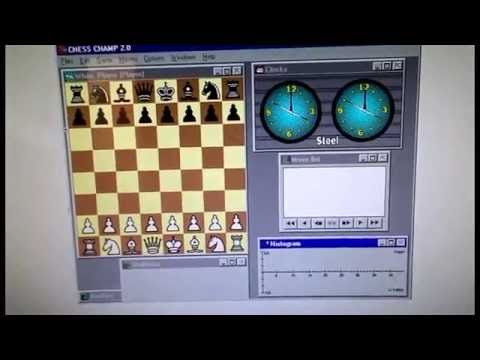Installing Grand Master Chess on a Windows 98 Virtual Machine