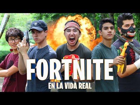 FORTNITE EN LA VIDA REAL - FORTNITE LA SERIE - Changovisión - Fortnite (La película, Parodia)