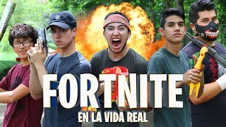 FORTNITE EN LA VIDA REAL - FORTNITE LA SERIE - Changovisión - Fortnite (La película, Parodia)