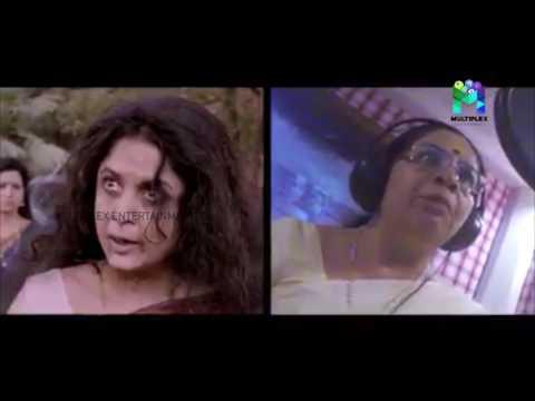 Bhagylakshmi Dubbing live for Ramya Krishnan | Bahubali Fame