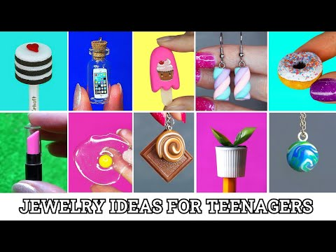 25-beautiful-jewelry-crafts-you-can-diy-/-top-20-diy-jewelry-ideas-for-teenagers-epoxy-resin