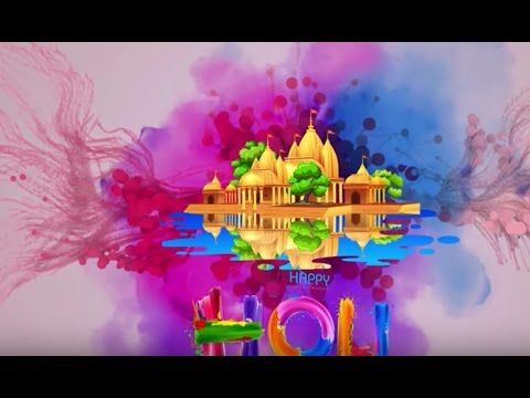 Happy Holi 2017 Wallpaper Animation Gifs Song Whatsapp Video Free Download Wishes 2
