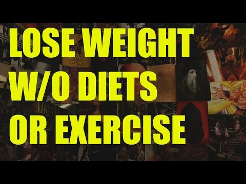 Lose Weight Fast Without Diets or Exercise-How To Get Rid Of Belly Fat For Six Pack Abs