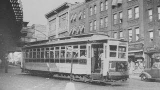 BRONX TROLLEY LINES , 1930's-1940's movie footage