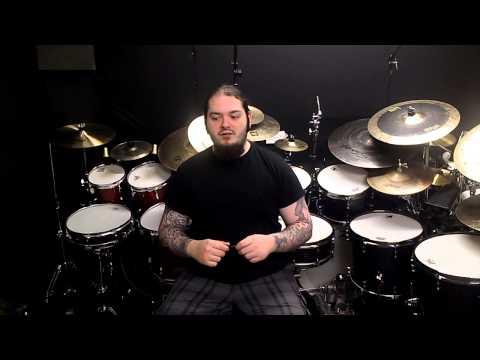 Stagg Drum Gel Control - Demo with mics - James Chapman