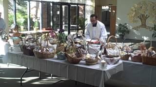 Easter Blessing Of Food 2.avi