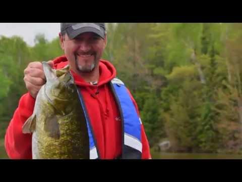Real Fishing Show - Algoma Country Monster Smallmouth - Bob Izumi