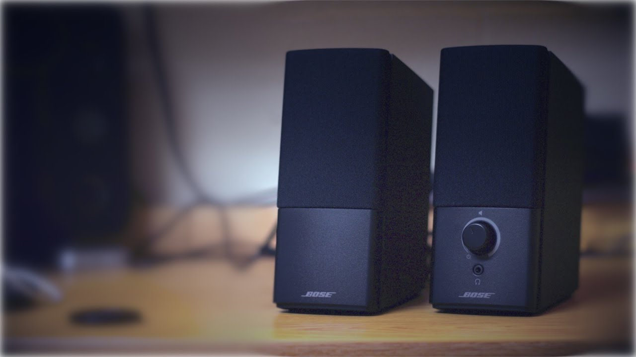 Bose Companion 2 Series Iii Speaker System Unboxing