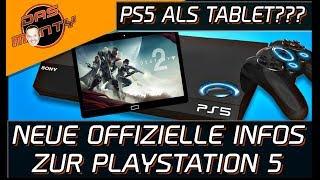 SONY PLAYSTATION 5 ALS TABLET ? - Weitere offizielle Infos zur PS5   DasMonty - Deutsch