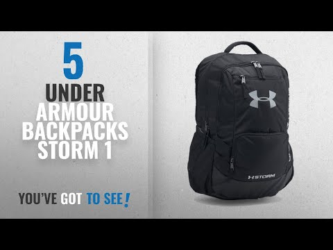 9a763e79cb Under Armour Backpacks Storm 1  2018 Best Sellers   Under Armour Storm  Hustle II Backpack