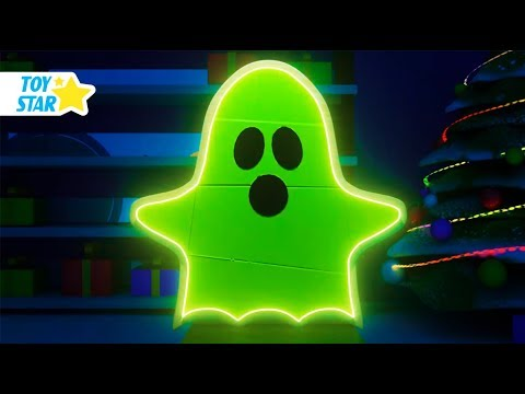 New 3D Cartoon For Kids ¦ Dolly And Friends ¦ Babies Play With The Ghost's Wheel of Fortune #126