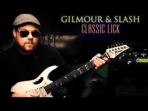 Gilmour & Slash lick you should know