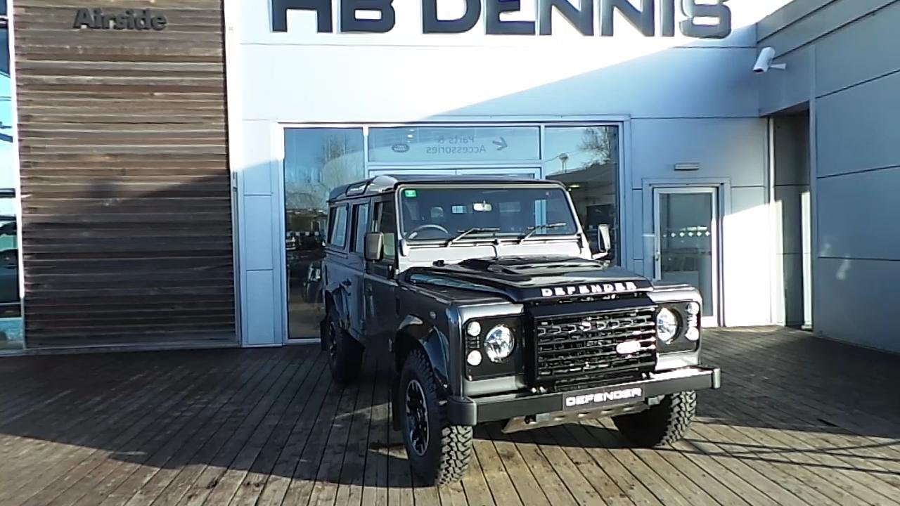 2016  2016 Land Rover Defender ADVENTURE LIMITED EDITION  YouTube
