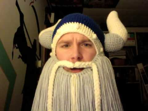 Viking Beard Hat Youtube