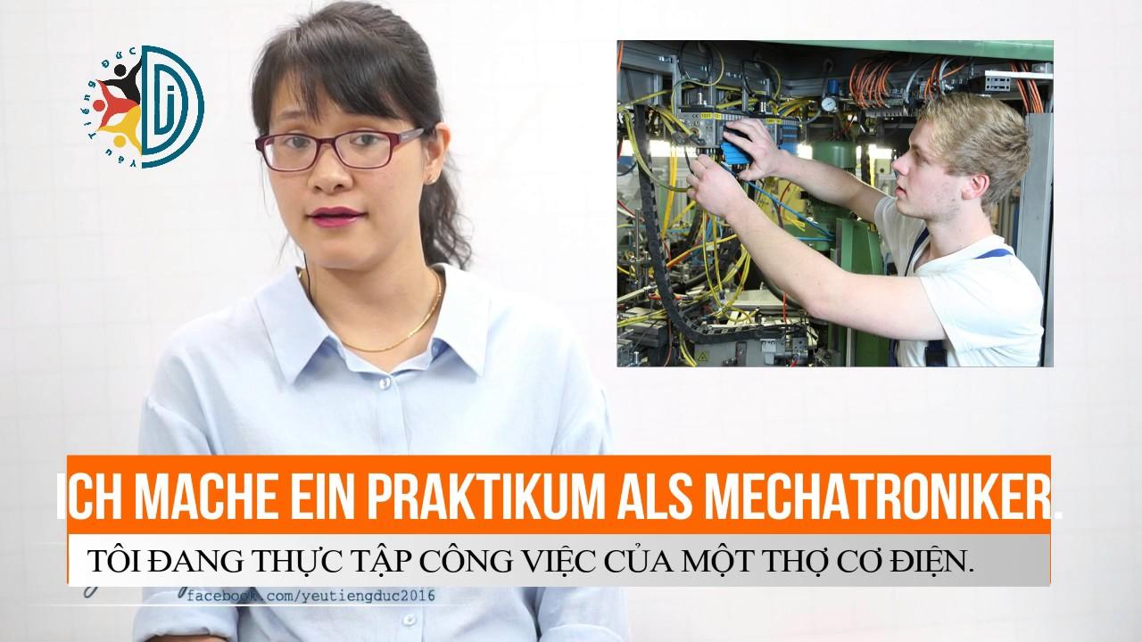 Học tiếng Đức cùng cô Thùy Dương - Bài 5: Nghề nghiệp