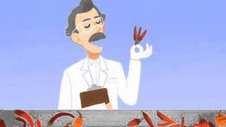 Animated Google Doodle Online Video Game   Wilbur Scoville's Birthday