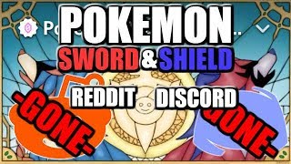Pokemon Sword and Shield Discord and Reddit DELETED - The Full Story