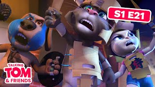 Talking Tom and Friends - Blanket Fort (Season 1 Episode 21)
