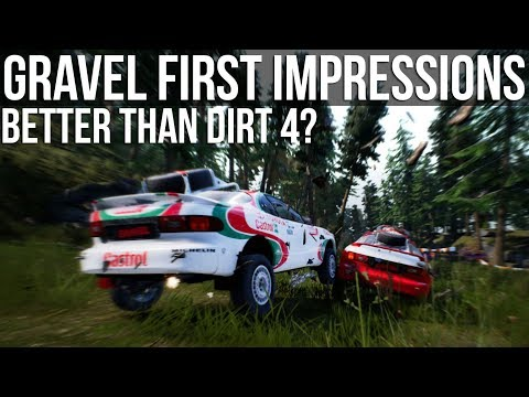 GRAVEL - First Impressions | Is It Better Than DiRT 4? | PC
