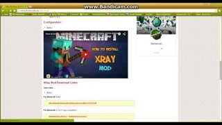 How To Download And Install X-RAY For Minecraft