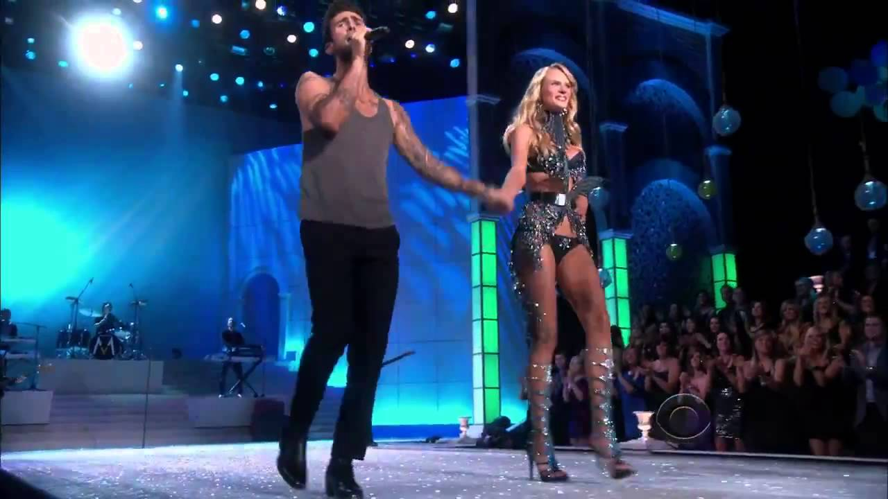 7db7d97a14 Maroon 5 Moves Like Jagger LIVE HD (Victoria s Secret Fashion Show ...