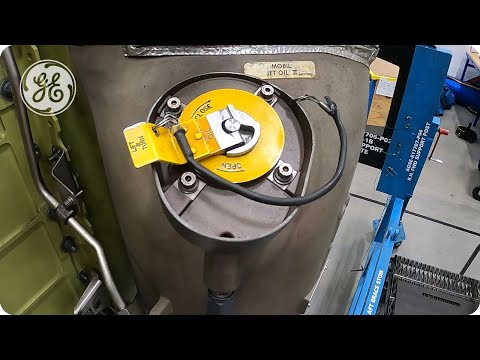 GEnx - Oil Fill Cap Removal & Installation - GE Aviation Maintenance Minute