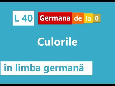 Curs Germană  - L 40: Culorile în Limba Germană