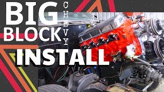 Small Block Chevy Removal | Installing a Chevy Big Block