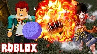 Roblox - Trái Ác Quỷ Cực Mạnh Của Vua Hải Tặc Tương Lai Gomu Gomu No Mi   Blox Piece
