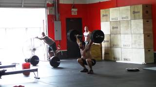 Rich Froning Workout - Snatches & Rowing - CrossFit