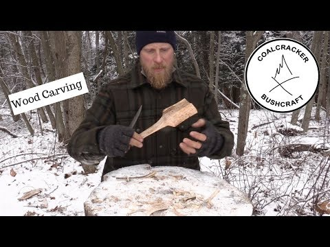 Wood Carving: Spatula, Bushcraft, Carving