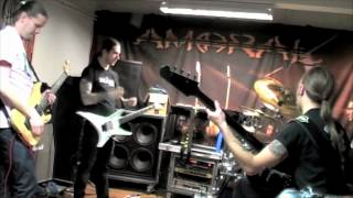 "Amoral - The Making Of ""Beneath"" (part 1/11)"