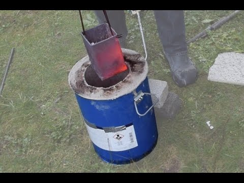 Making a Metal Melting Furnace (Simple, Effective, Propane)