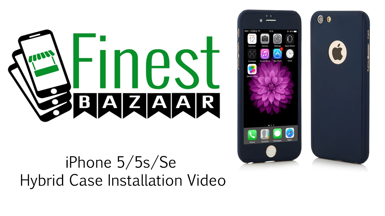 video cover iphone 5s